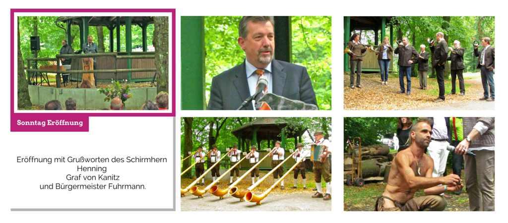 Holzkunst Festival Eröffnung